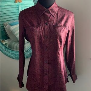 Foxcroft L/S Button Down Collared Shirt/Blouse